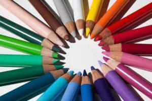 七色rainbow鉛筆