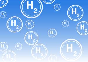 たくさんの水素H2